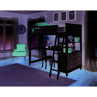 Loft Bed With Desk Designs & Features » InOutInterior