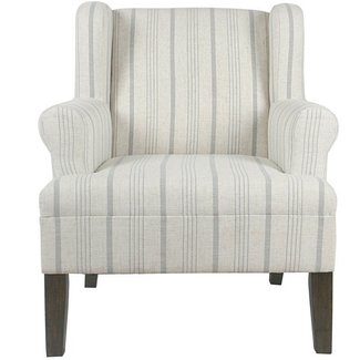 London Rolled Wing back Chair