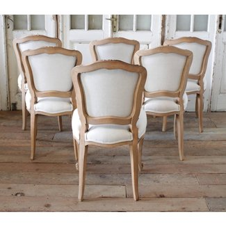 Louis XV Style French Country Dining Chairs at 1stdibs