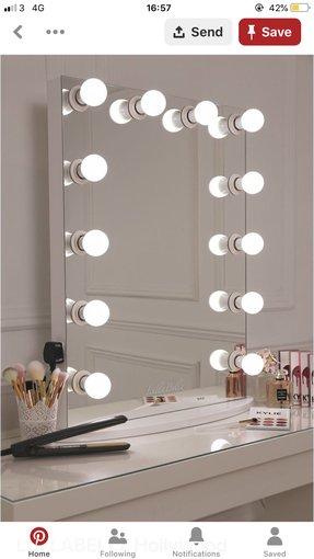 50 Vanity Mirror With Light Bulbs, Vanity Bulb Mirror