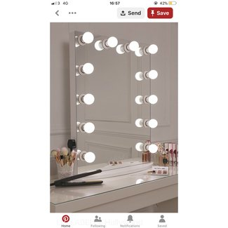 LULLABELLZ Hollywood Glow Vanity Mirror LED Bulbs. This is ...