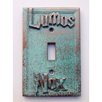 Lumos/Nox (Harry Potter) Light Switch Cover (Custom)