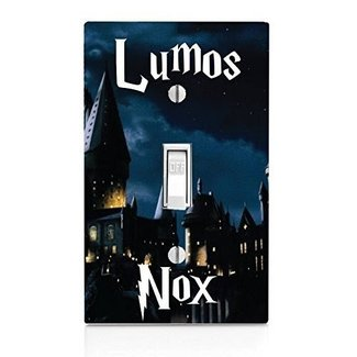 Lumos Nox Light Switch Plate
