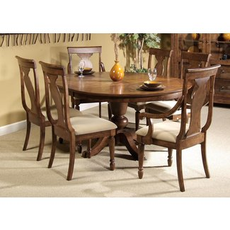 Luxury Round Dining Table for 6-8 - Light of Dining