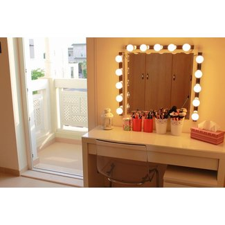 Makeup Dressing Table Mirror Lights Vidalondon