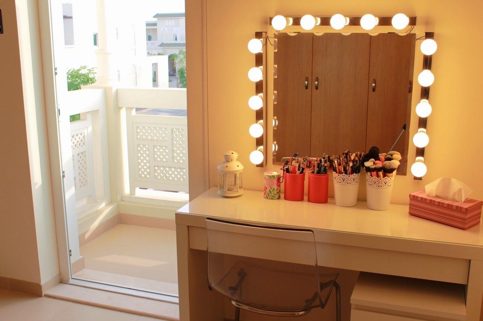 Makeup Dressing Table Mirror Lights   Makeup Vidalondon