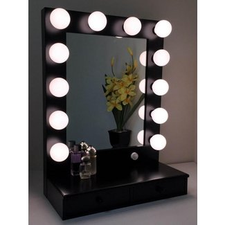 50+ Vanity Mirror With Light Bulbs - Visual Hunt