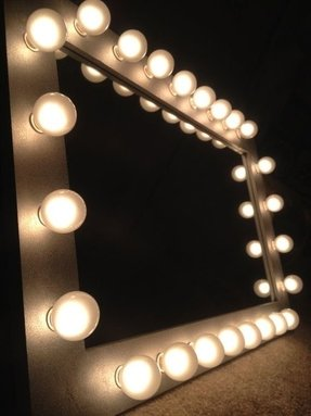 50 Vanity Mirror With Light Bulbs Visual Hunt