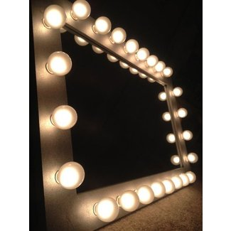 Makeup Mirror With Light Bulbs - Makeup Vidalondon