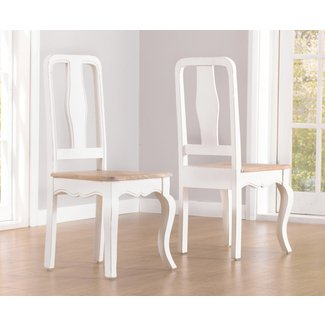 Mark Harris Sienna Shabby Chic Dining Chair (Pair) | Mark