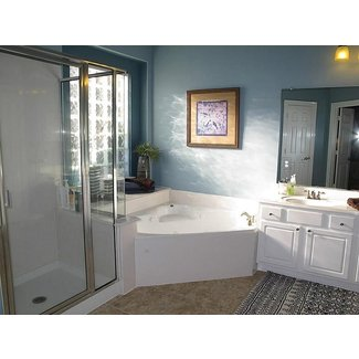 master bathroom corner bathtub jacuzzi - Google Search ...