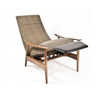Milo Baughman Recliner at 1stdibs