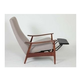 Milo Baughman Recliner / Lounge Chair at 1stdibs