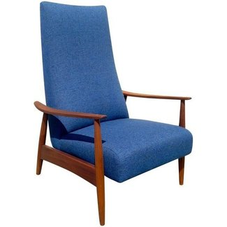 Milo Baughman Thayer Coggin Model 74 Recliner | Chairish