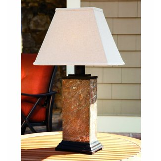 Mini Table Lamps Battery Operated Table Lamp Rustic ...