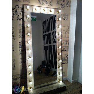 Mirror with lights, will be making one of these for