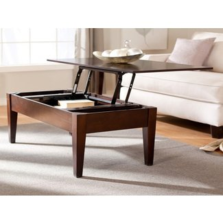 Miscellaneous : Coffee Table Height Adjustable Round ...