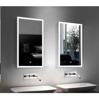 Mist LED Lighted Bathroom Vanity Mirror