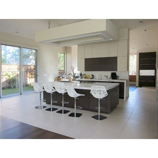 modern bar stools Kitchen Modern with kitchen island indoor