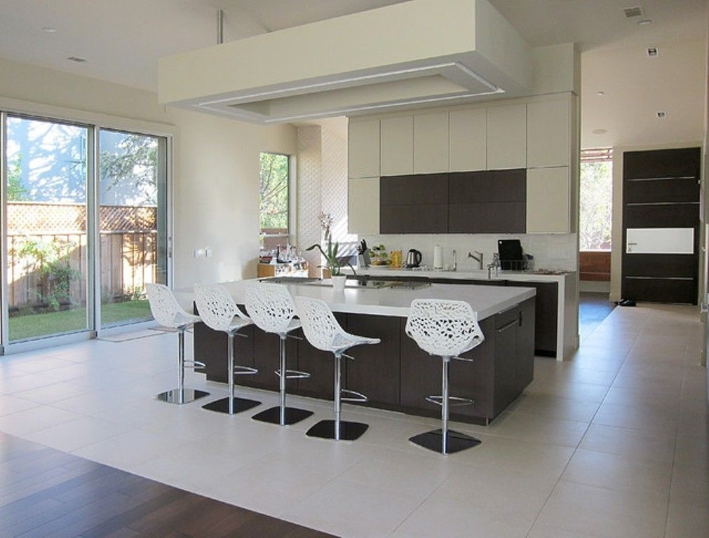 Beau Modern Bar Stools Kitchen Modern With Kitchen Island Indoor