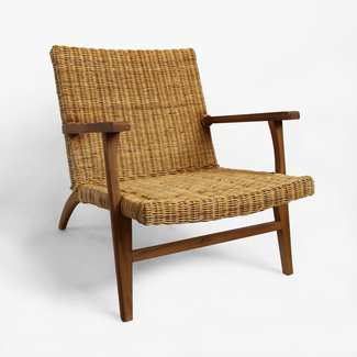 Modern Natural Fiber Easy Chair Furniture | Mix Furniture