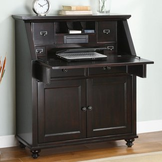 Modern Secretary Desk with Hutch : Modern Secretary Desk ...