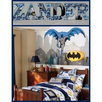 Modern Super Hero Batman Bedroom Decor Theme Ideas for Kids