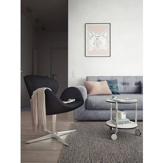 modern swan chair | Interior Design Ideas.