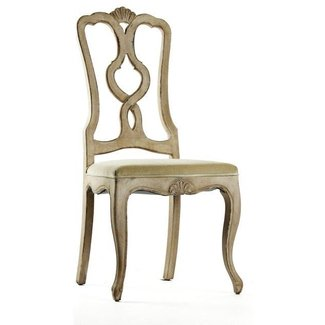 Monte Carlo French Country Solid Birch Dining Chair ...