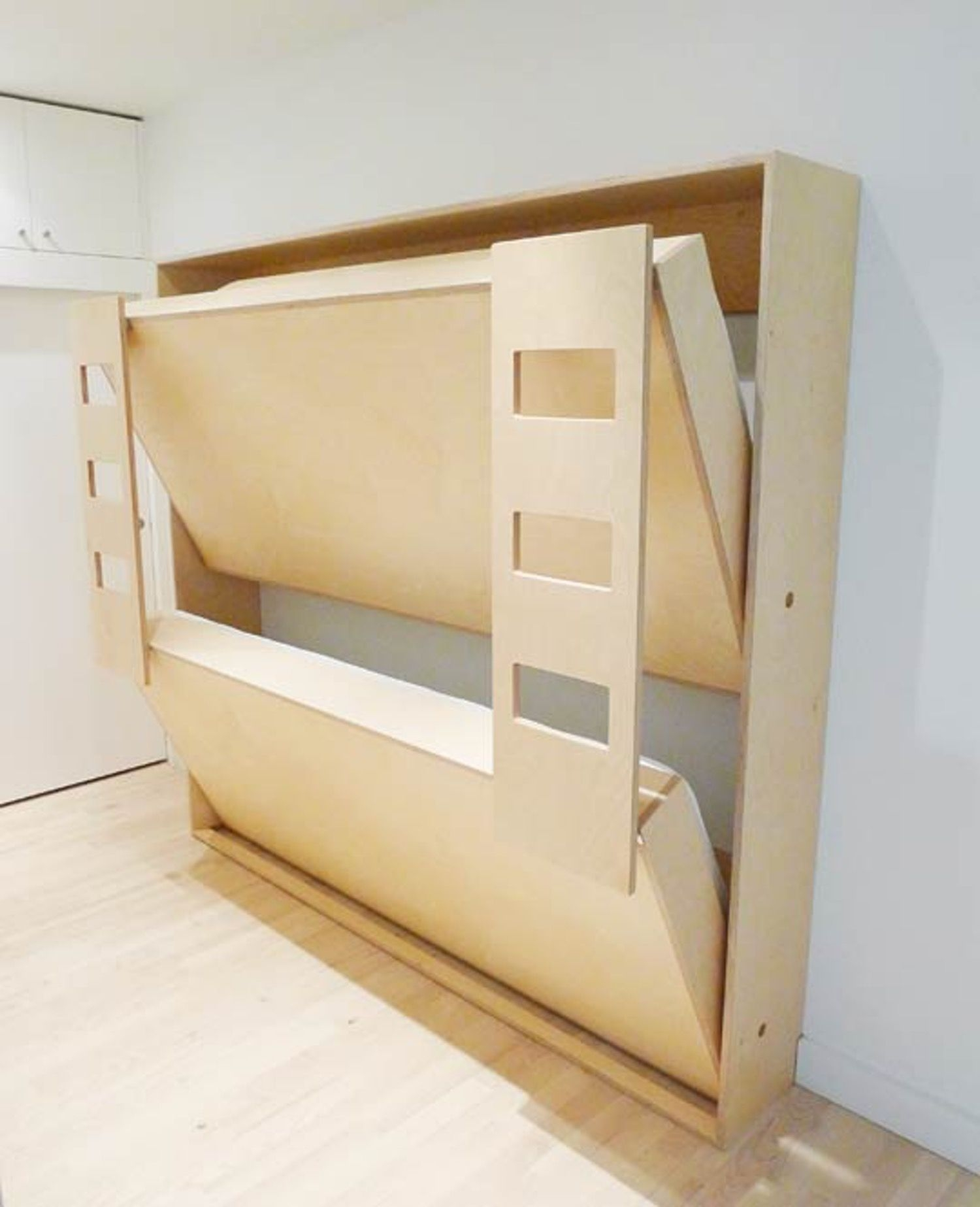 Moving Space-Saving Double Bunk Bed For Kids Room | Kidsomania