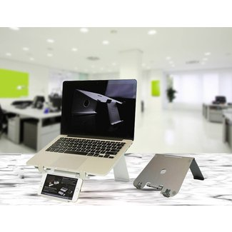 Multi-Device Technology Stands : folding laptop stand