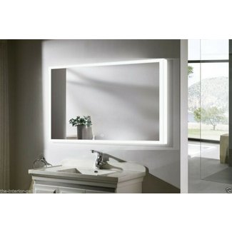 Munich III LED Lighted Bathroom Vanity Mirror