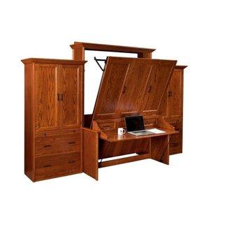 Murphy Desk. Excellent Gabriella Queen Murphy Bed With ...