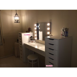 My Vanity is FINISHED!! :) (IKEA Malm dressing table $149