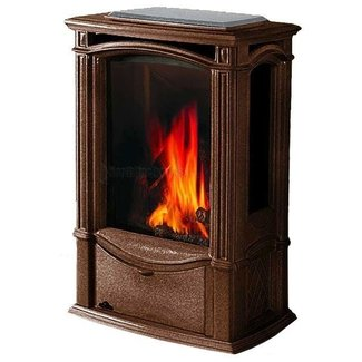 Napoleon Gas Stove Brown Castlemore Gds26 Free Standing ...
