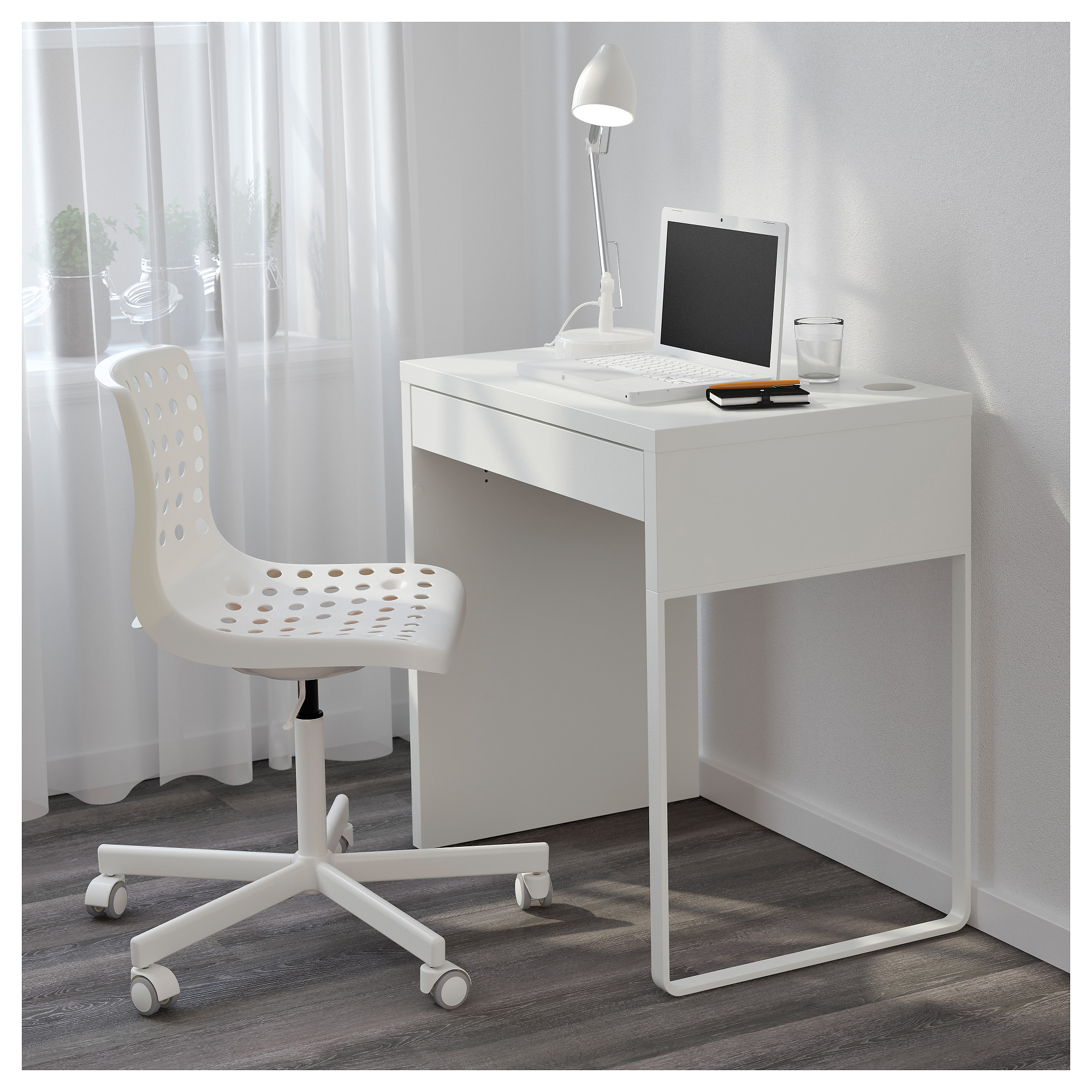 Superieur Narrow Computer Desks For Small Spaces | Minimalist Desk .