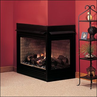 interesting for decor natural gas fireplaces living fireplace direct room vent corner