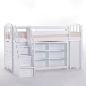 50 Full Size Loft Bed With Stairs You Ll Love In 2020 Visual Hunt