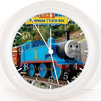 "New Thomas Train Wall Clock 10"" Will Be Nice Gift and Room Wall Decor W68"