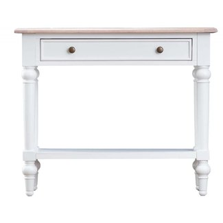 Newbury Shabby Chic White Console Table