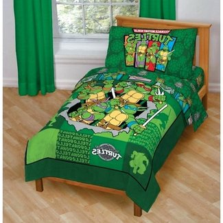 Ninja Turtle Bedroom Decor | The Partizans