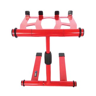 Novopro LS22M Adjustable Folding Laptop Stand - Red