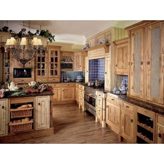 Old French Style Kitchen Cabinets |