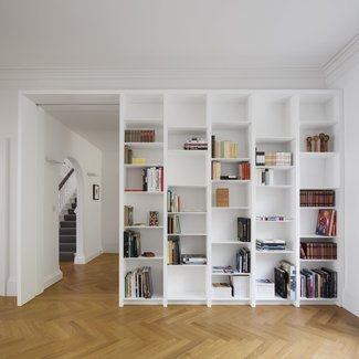 Open-Plan Idea - Bookshelf Ideas - Openstudio Architects ...