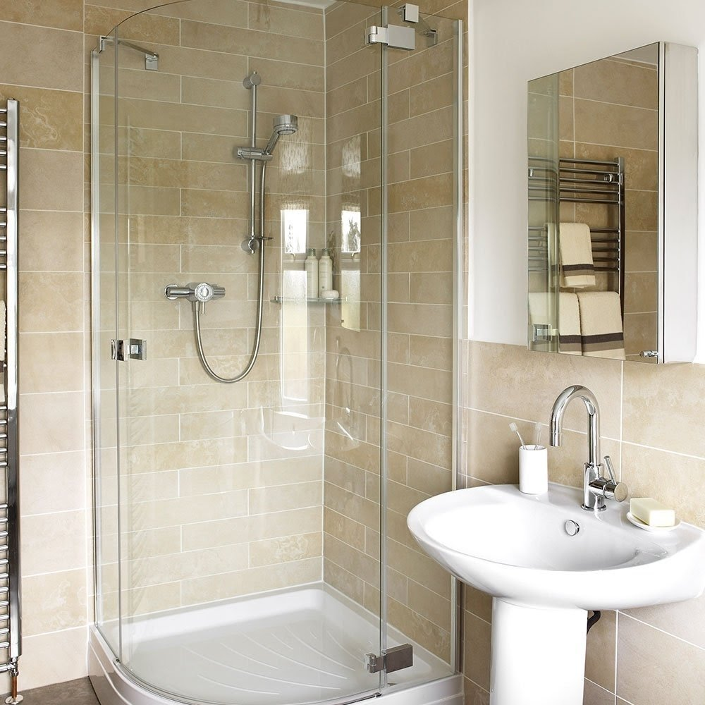 Gentil Optimise Your Space With These Smart Small Bathroom Ideas .