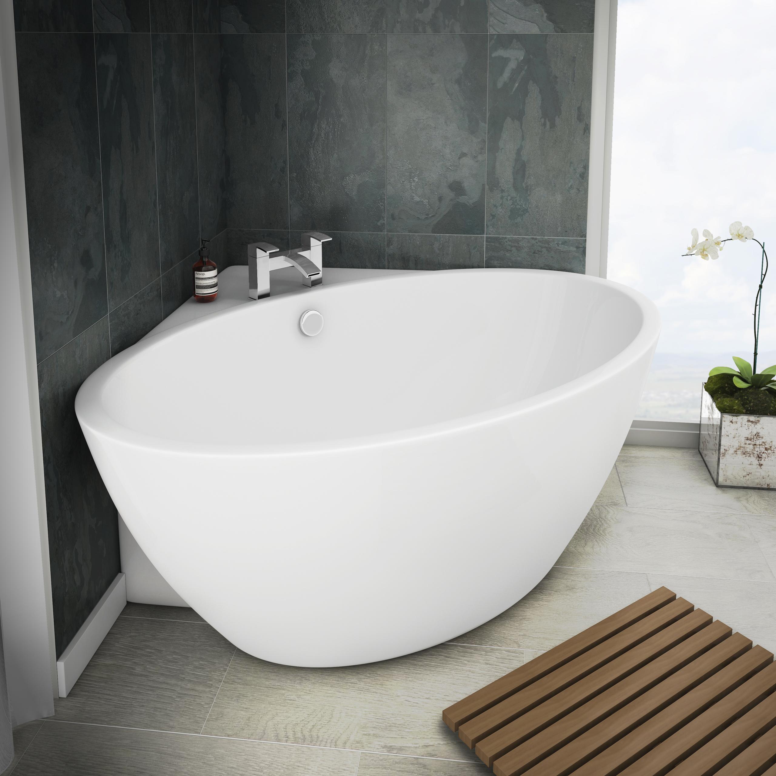 Orbit Corner Modern Free Standing Bath | Victorian .