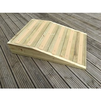 Outdoor Anti-Slip Handmade Wood Pet Ramp for Your Dog or