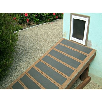 Outdoor Dog Ramp and Stairs : Keeping Pets Safe with