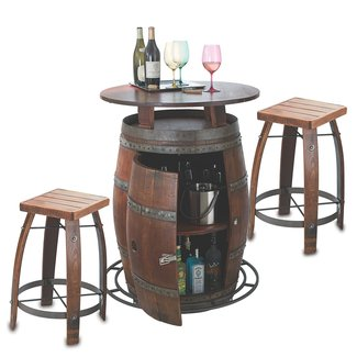 50 Wine Barrel Bar Stools You Ll Love In 2020 Visual Hunt