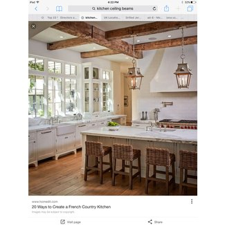 Oversized French Country Kitchens - Lamps Plus